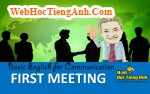Video: First Meeting - Basic English for Communication