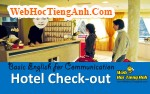 Video: Hotel Check-out - Basic English for Communication