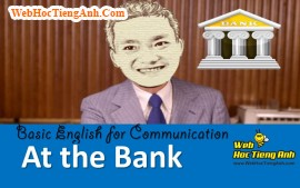 Video: At the bank - Basic English for Communication