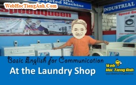 Video: At the laundry shop - Basic English for Communication