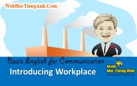 Video: Introducing your workplace - Basic English for Communication